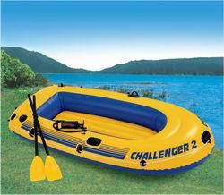 68367 Лодка Челленджер-2 236*114*41 см +весла+насос груз. 200кг