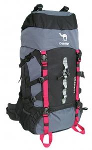 Рюкзак Tramp  Light 60 литров (черно-серый) экспедиционный
