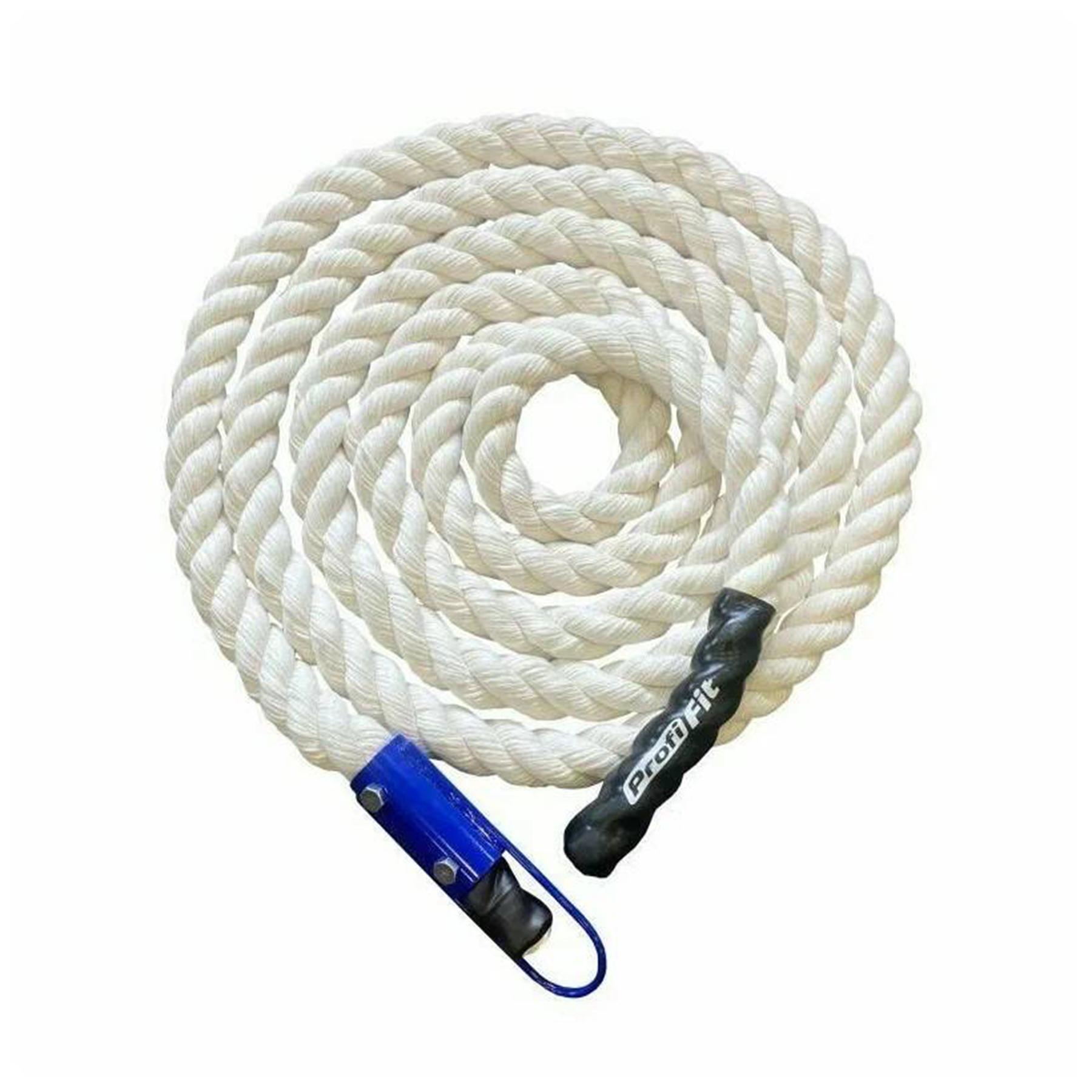 Канат х/б 4м d=30мм с крепежным стаканом и крюком