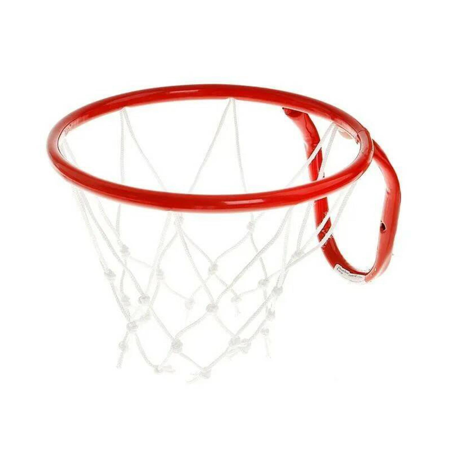 Кольцо баскетбольное d=380 mm с сеткой №5 к