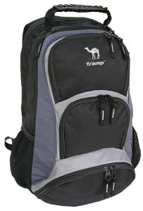 Рюкзак Tramp  Trusty 30 литров (черно-серый) с отделением для ноутбука