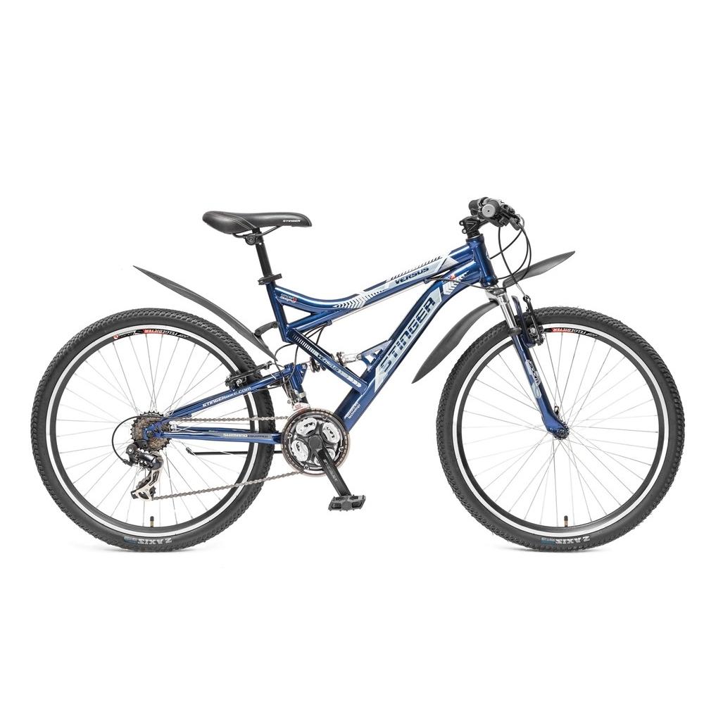 "Велосипед Stinger 26"" Х60862 Версус аморт. 21ск. рама 18д. сине-серый"