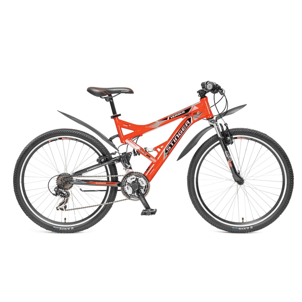 "Велосипед Stinger 26"" Х60860 Версус аморт. 21ск. рама 20д. оранжевый"