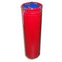 Мешок боксерский цилиндр тент 15 кг на цепях (песок, опилки) 26*60см