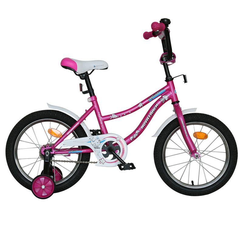 """Велосипед Novatrack 16"""" Х60740 Нептун А-тип корот.крыл. розовый"""
