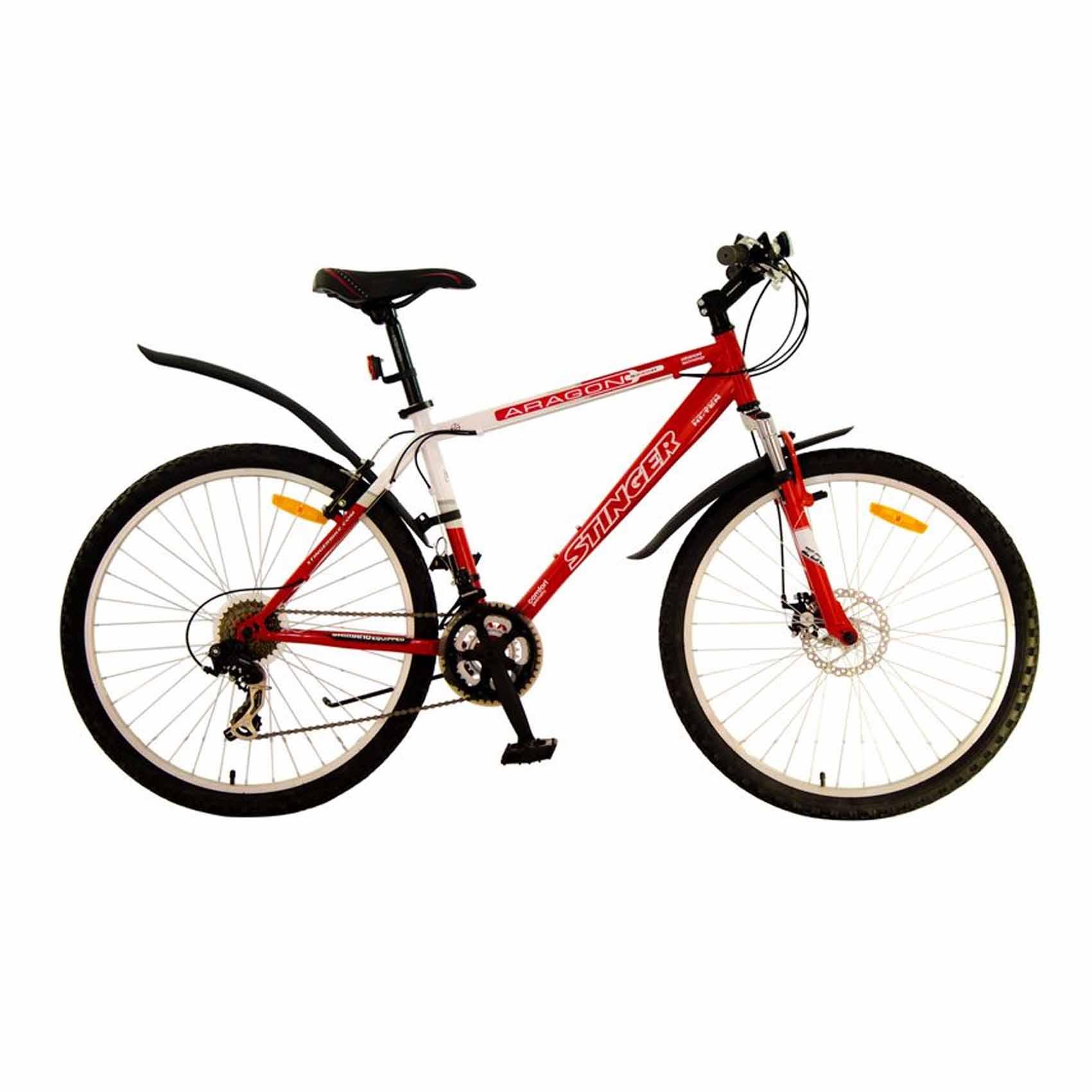 "Велосипед Stinger 26"" Х43961 Арагон S270D хардт. 21ск. рама 18д. красно-белый"