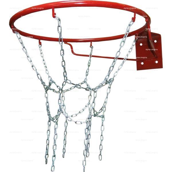 Кольцо баскетбольное d=450 mm  №7 антивандальное  т