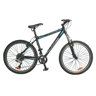 "Велосипед Stinger 26"" Х24467 Альфа XC.R 3.3 алюм. 21ск. рама 18д. дв.обода черный"