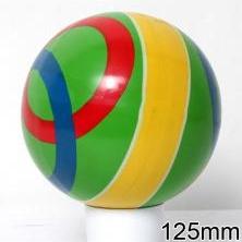 Мяч резиновый 125 мм арт.100 с рисунком