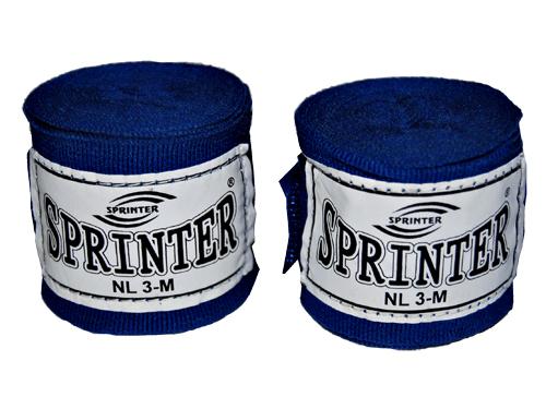 Бинт боксерский Sprinter хлопок+нейлон длина  3м  03039
