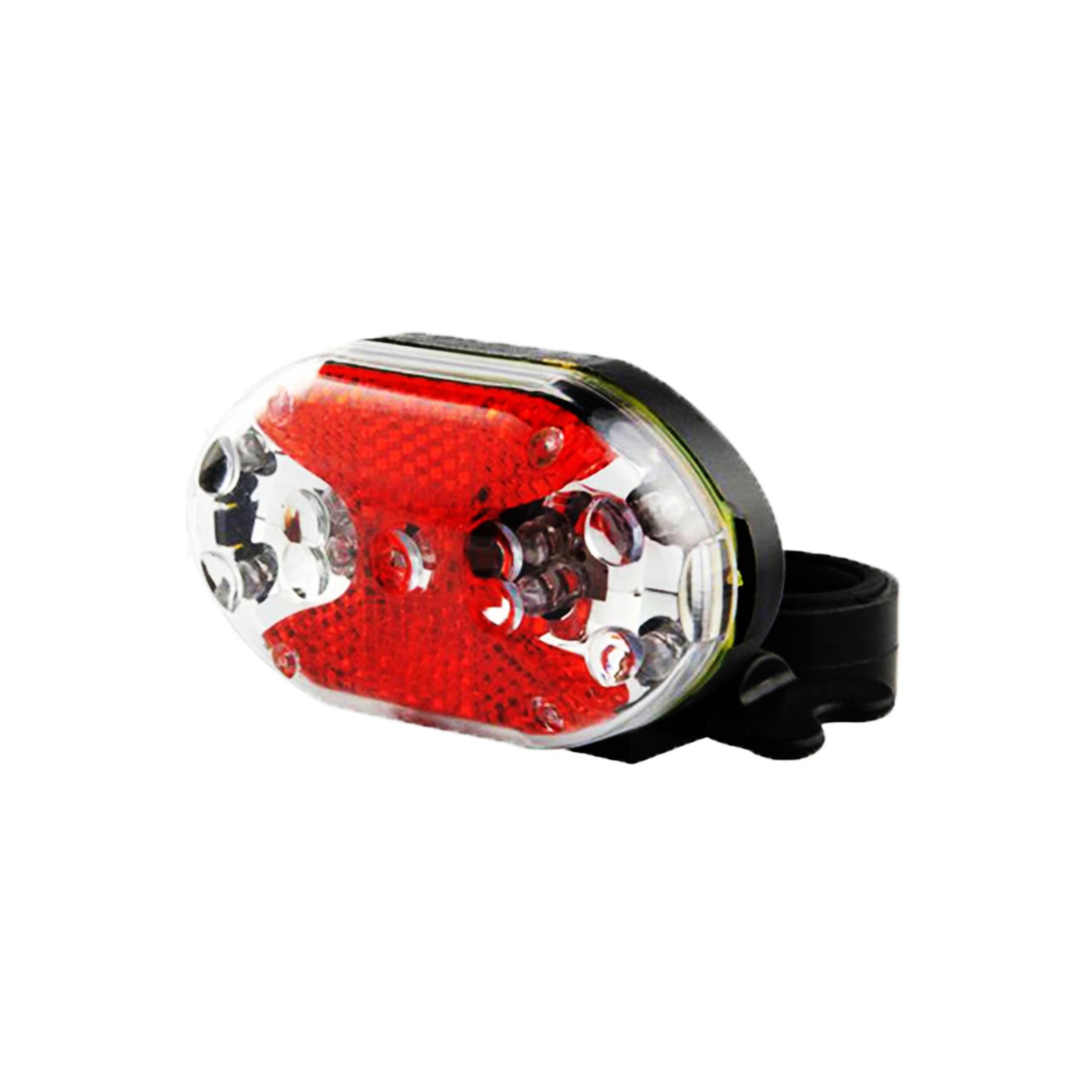 Фонарь задний JY-500Т  3 диода, 3 режима красный