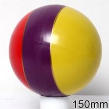 Мяч резиновый 150 мм арт.22 с рисунком