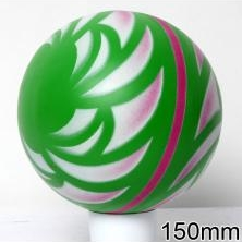Мяч резиновый 150 мм арт.32 с рисунком
