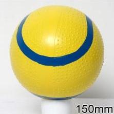 Мяч резиновый 150 мм арт.55 с рисунком
