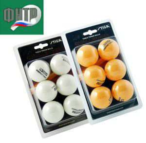 Мячик н/т Cornilleau P-BALL ABS Evolution 1* ITTF 40+ 6шт/уп арт.340050