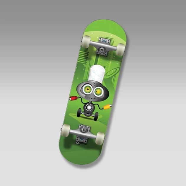 "Скейт SC MEGAVOLT Mini-board  22"""
