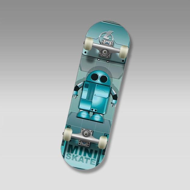 "Скейт SC ROBOT (SP-69) Mini-board  22"""