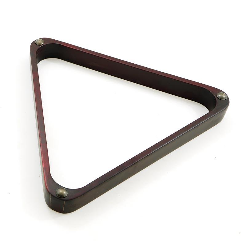 Треугольник бильярд 68 мм (махагон) 70.009.68.0