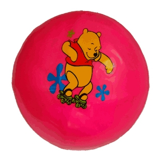 Мяч детский 18* 75-80гр с рисунком  07376
