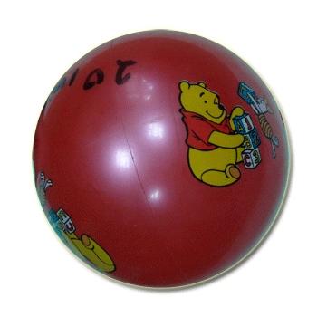 Мяч детский 20* 100гр цветной  07369