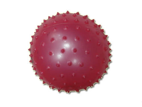 Мяч детский 20* (с шипами) 70гр  07374