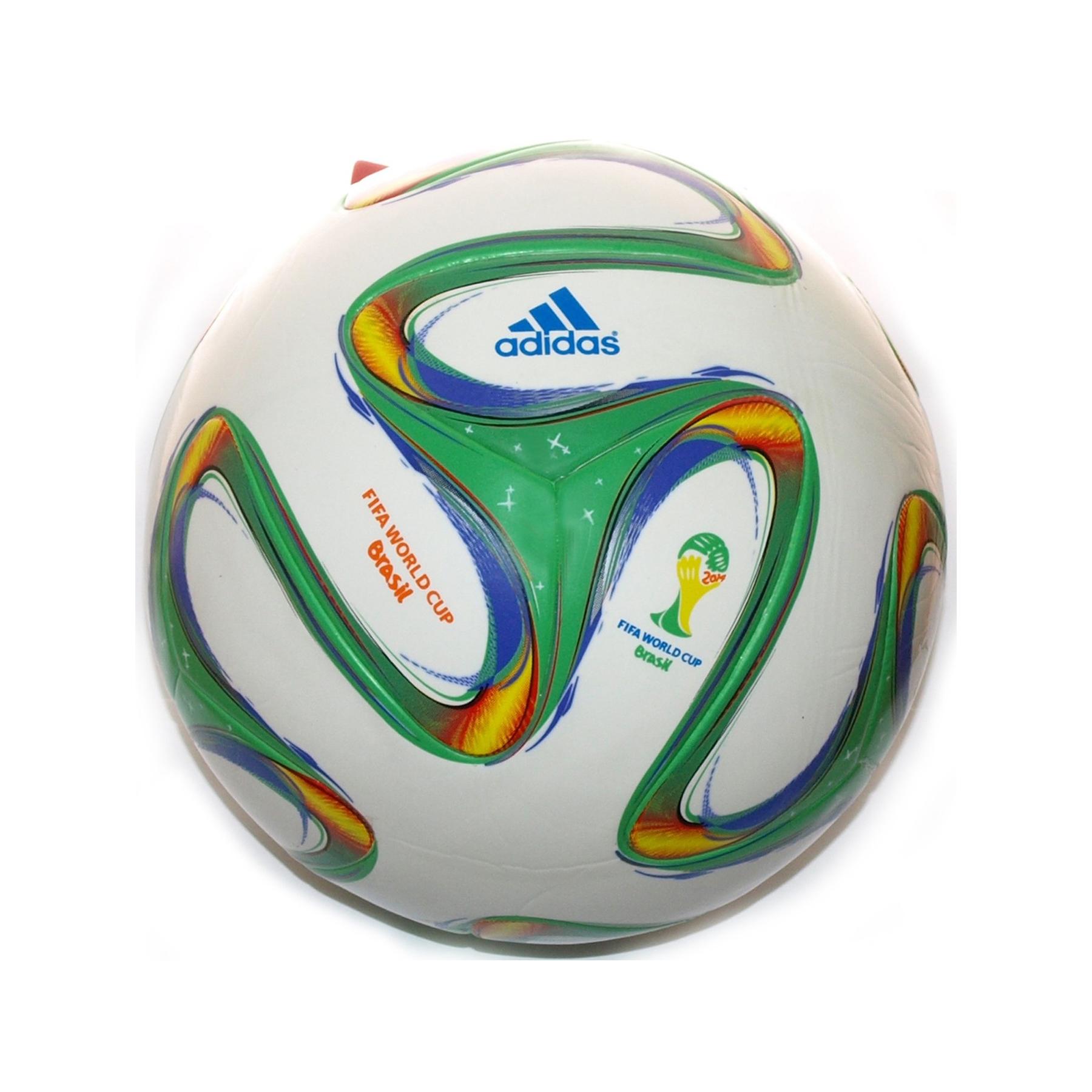 Мяч ф/б VL-371 Brasil 2014 зелено-белый с символикой Чемп.мира 2014