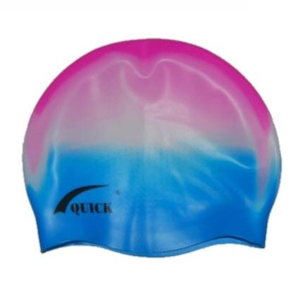 Шапочка 3D силикон взрослая (ямки) QA 06340 многоцветная