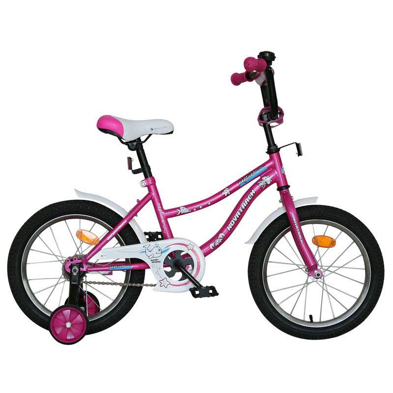 """Велосипед Novatrack 12"""" Х61189 Нептун А-тип корот.крыл. розовый АКЦИЯ!!!"""
