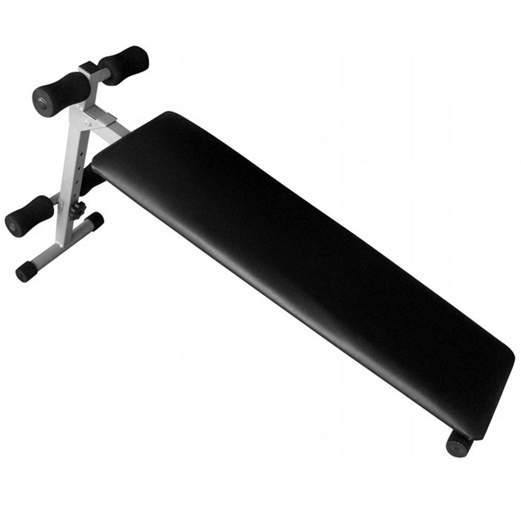 Скамья для пресса SB 1210, прямая, изм. угол наклона, 139*33*64 см. Вес:8 кг.