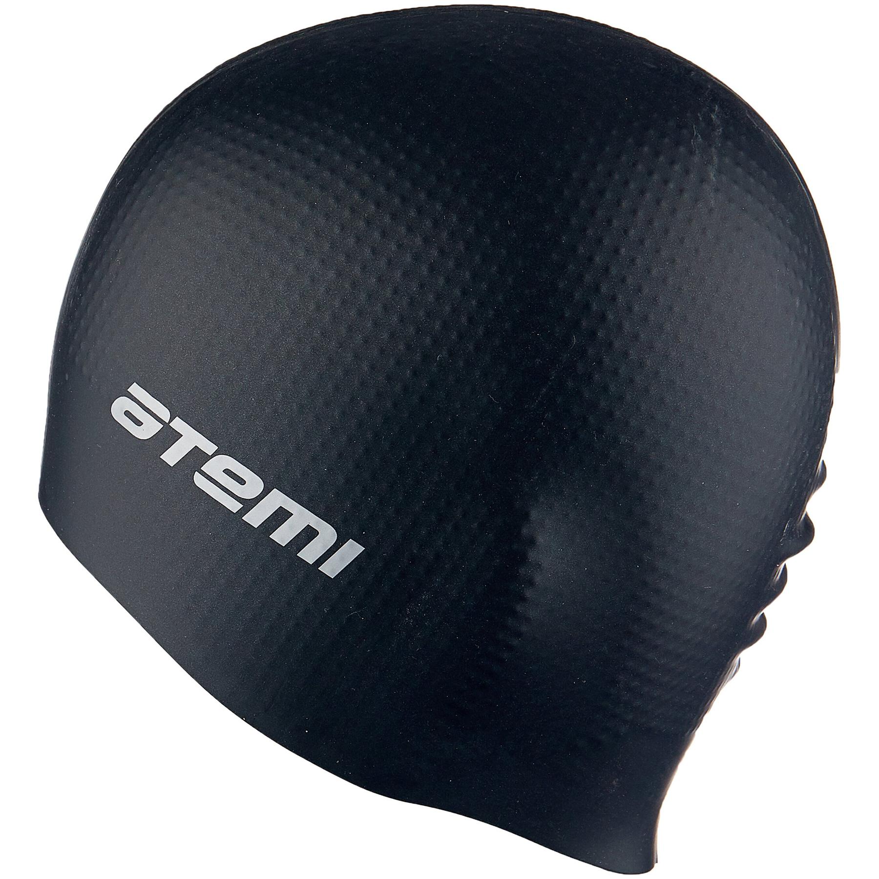 Шапочка АТ DC 502 силикон массажная черная