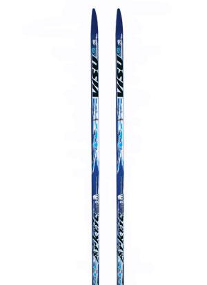 Лыжи  195 VISU Arctic  прогулочные (пластик, геом. //53) синие УЦЕНКА!