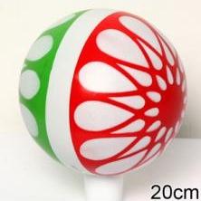 Мяч резиновый 200 мм арт.34