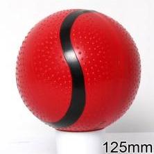 Мяч резиновый 125 мм арт.54 с пупырышками