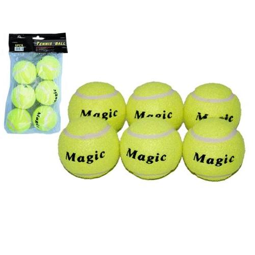 Мяч б/т Magic PVC (6 шт в упаковке) S3 02037