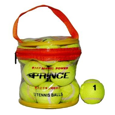 Мяч б/т (12 шт в сумочке) 1 сорт цена за шт. 02065