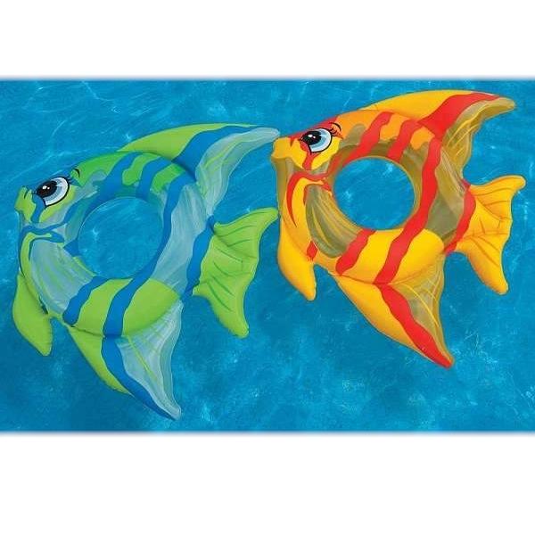 59219 Круг Тропическая Рыбка 94х80 см 3-6 лет