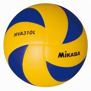 Мяч в/б Микаса MVA 310L облегч. клееный синт. кожа желто-синий №5