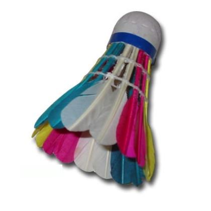 Волан-перо Fourseason 555 цветной в тубе (цена за 1 шт) 01005