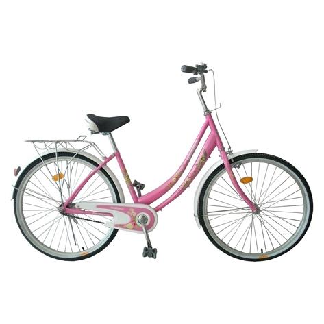 """Велосипед Novatrack 26"""" Х32293 Lady жен. городской рама 18"""" розовый"""