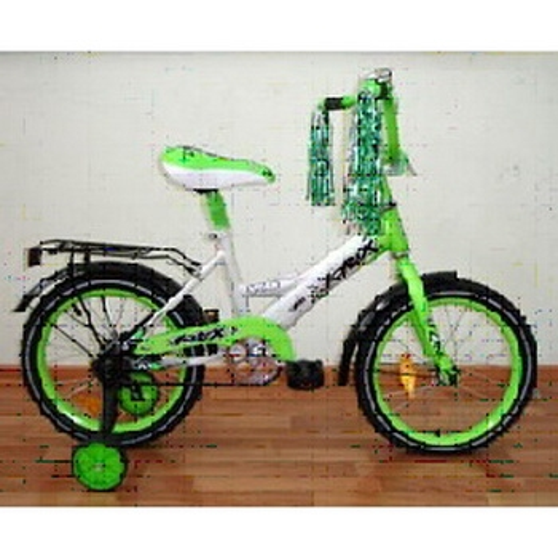 "Велосипед AIST 16"" Pluto зеленый"