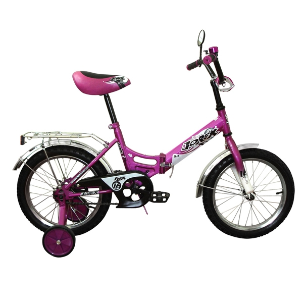 "Велосипед AIST 18"" Wiki фиолетовый"