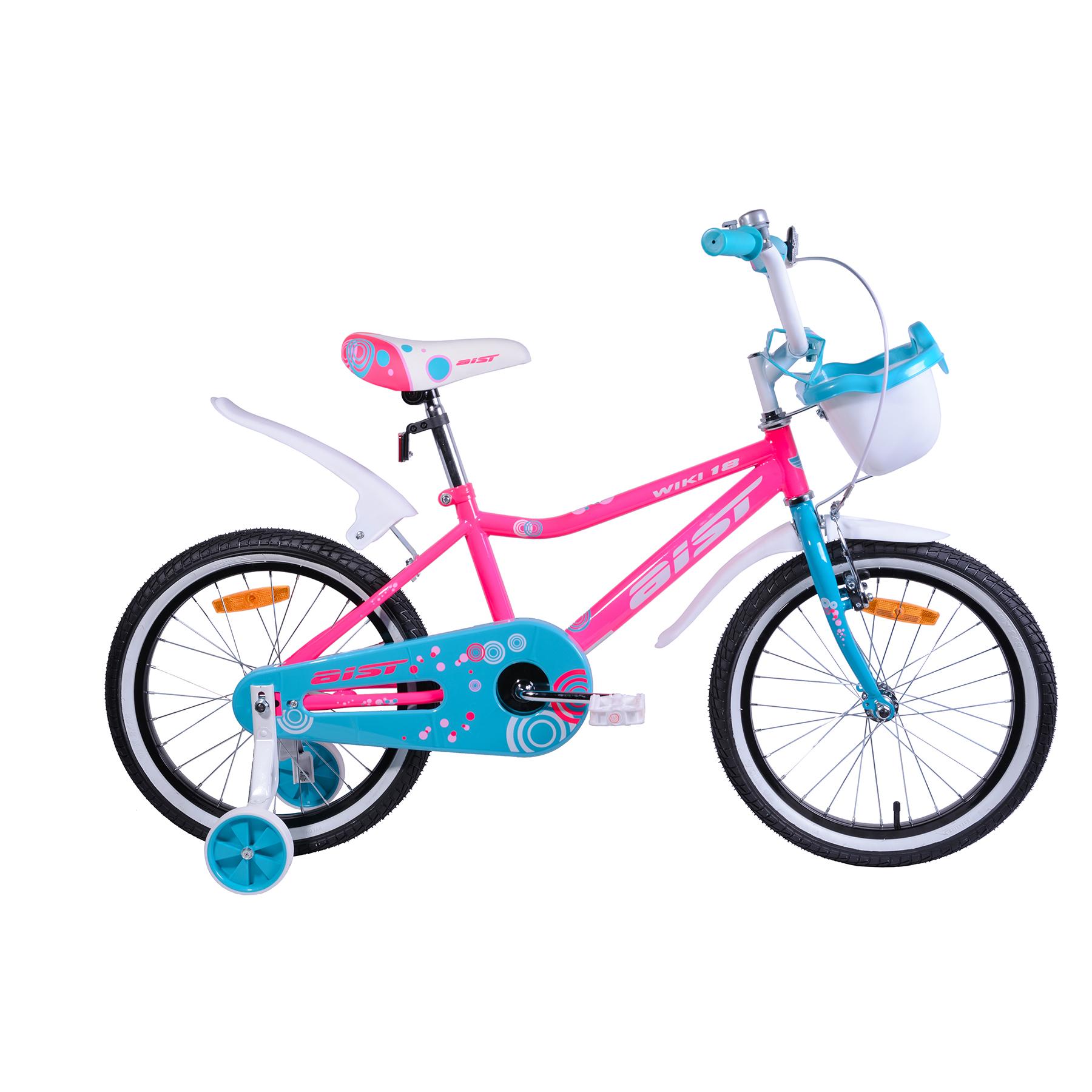 "Велосипед AIST 16"" Wiki розовый"