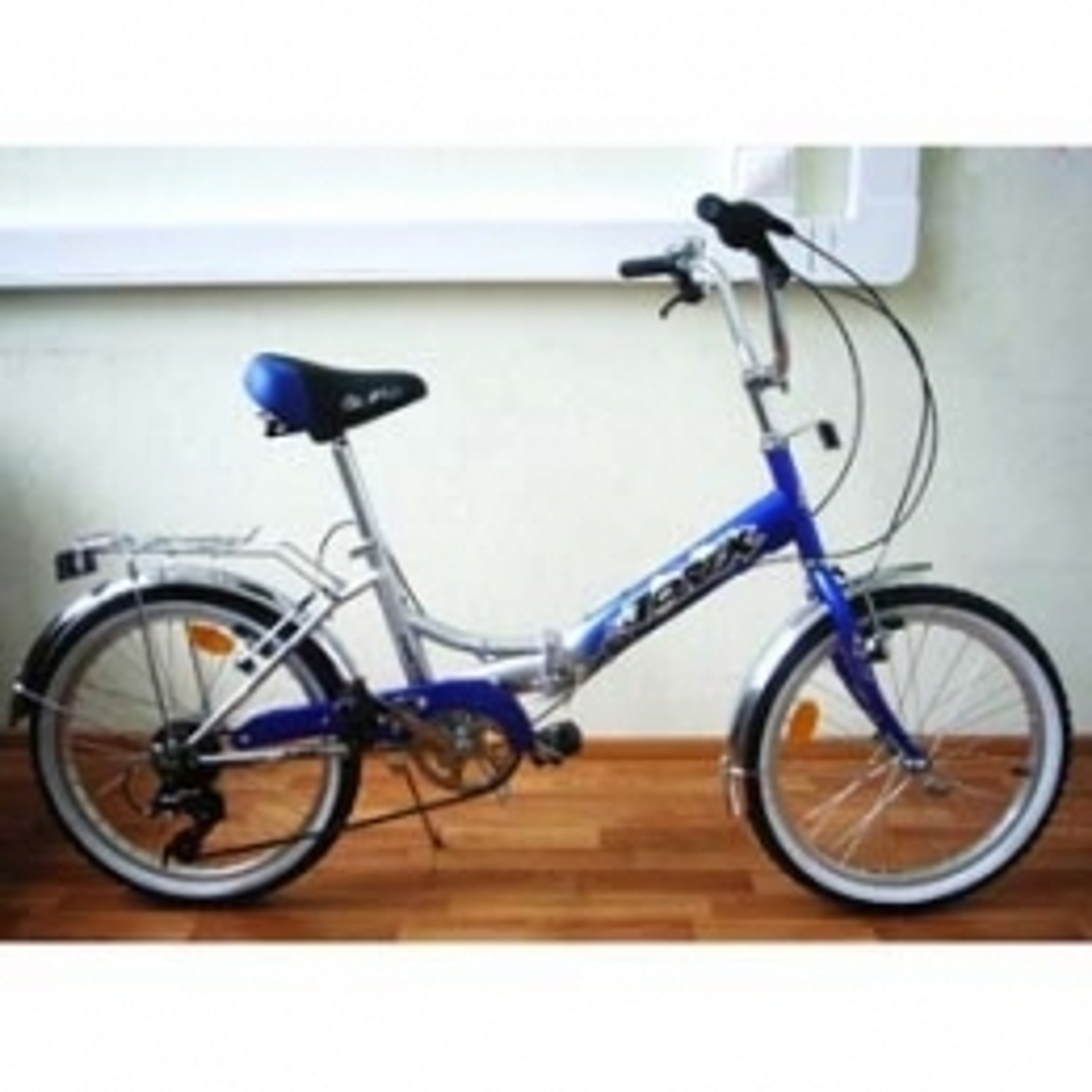 "Велосипед AIST 16"" Pluto синий"