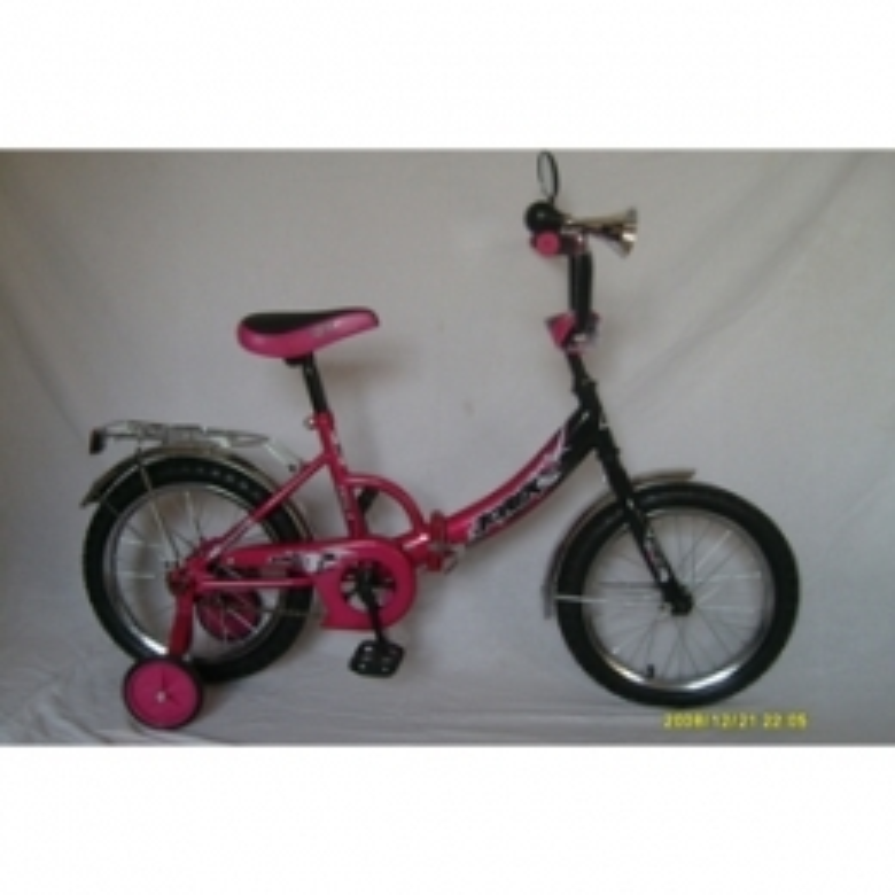 "Велосипед AIST 16"" Wiki фиолетовый"