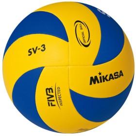 Мяч в/б Микаса SV-3 School облегч для трен начинающих,мягкая синт кожа,машин.сшив.