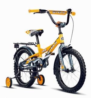 """Велосипед Stels 16"""" Pilot-140 зад.нож.торм,пер.руч.торм,багаж,выс.руль,звонок"""
