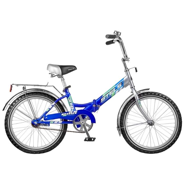 """Велосипед Stels 20"""" складной Pilot-310  1-ск,зад.нож.торм,алюм.обода,багаж,звонок,насос 2.8"""