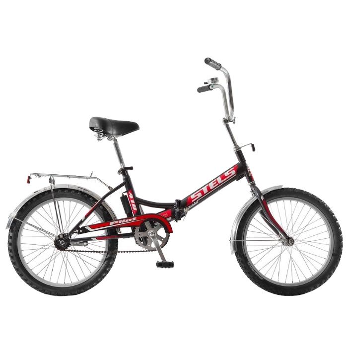 "Велосипед Stels 20"" складной Pilot-410  1-ск,зад.нож.торм,багаж,звонок,насос"