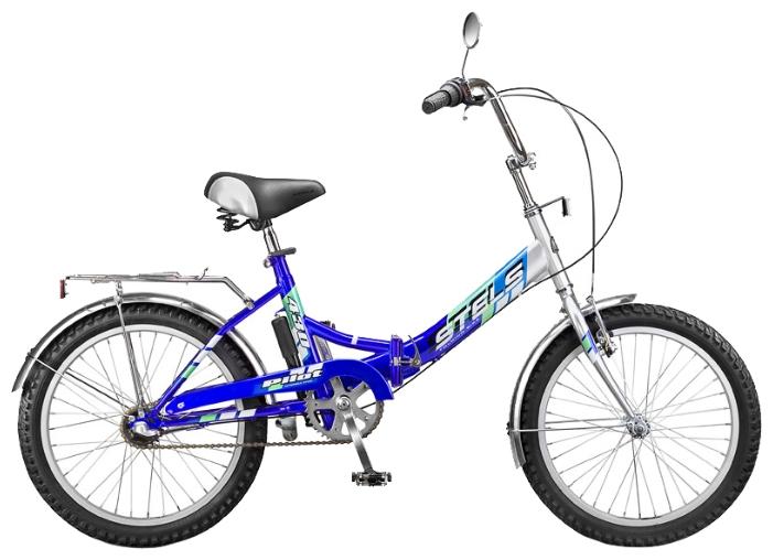 "Велосипед Stels 20"" складной Pilot-430  3-ск,зад.нож.торм,перед.торм,алюм.обода,багаж,звонок,насос"
