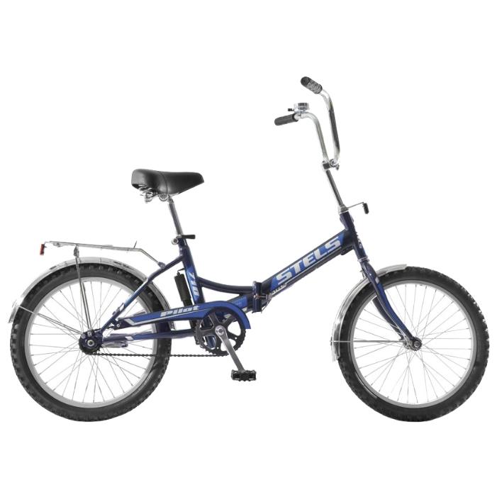 """Велосипед Stels 24"""" складной Pilot-710  1-ск,зад.нож.торм,алюм.обода,багаж,звонок,насос"""